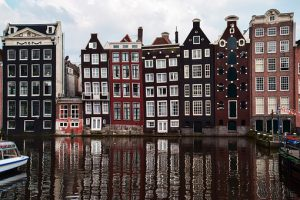 Traditional Dutch Rooftops